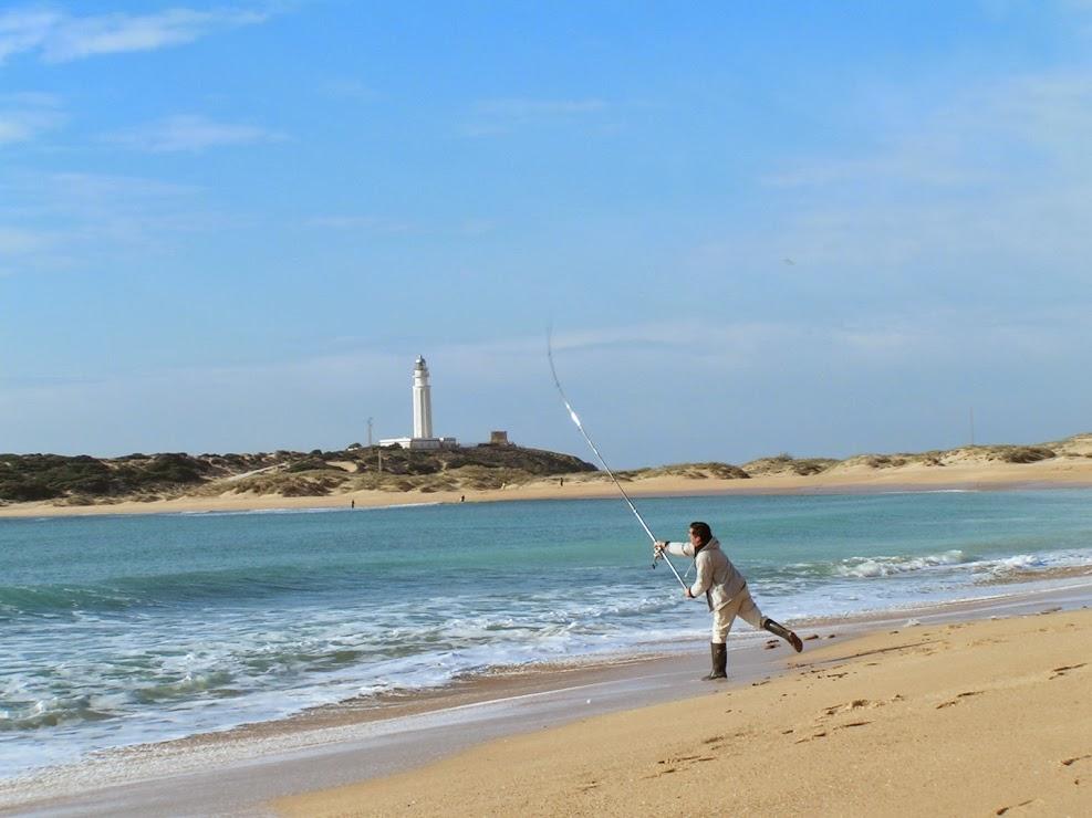 Pescar en el Cabo de Trafalgar