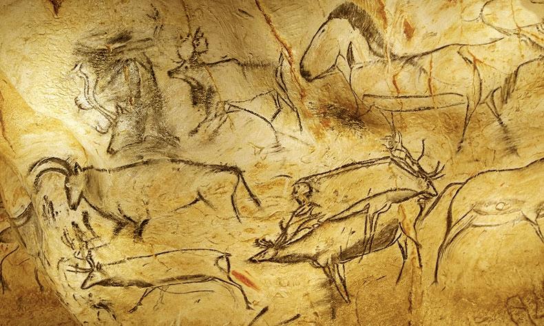 Arte rupestre en Zahara de los Atunes